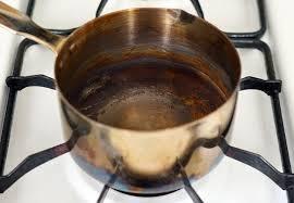 boil burnt pot