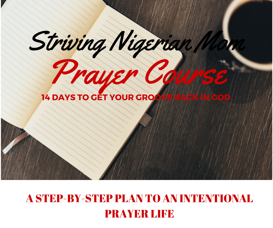 GET YOUR GROOVE BACK IN GOD PRAYER COURSE